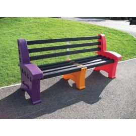Multicoloured Seat - 3 Person