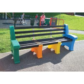 Multicoloured Seat - 4 Person