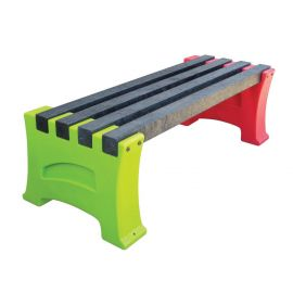 Multicoloured Bench - 2 Person
