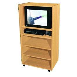 Audio and Visual Cabinets