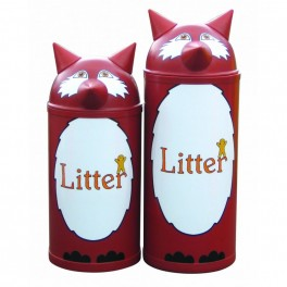 Themed Litter Bins