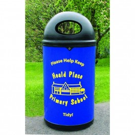 Personalised Litter Bins