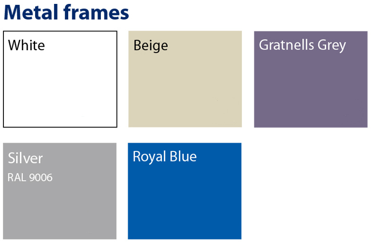 Frame Color Chart